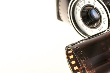 Photographic film and old camera