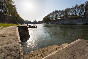 Castle Sant'Angelo and Bridge of the Angels - Rome