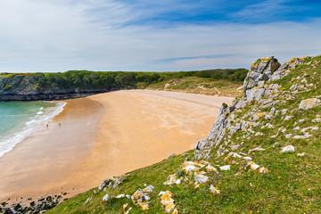 Fototapete - Barafundle Bay Wales