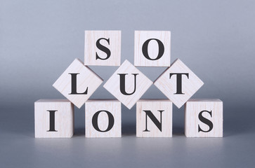 Solutions Word cubes photo