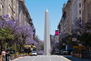 Photo sur Plexiglas Buenos Aires Obelisco (Obelisk), Buenos Aires Argentinien