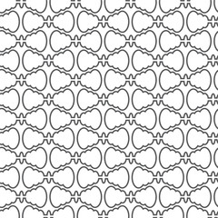 abstract seamless pattern curve vector background