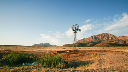 Utah Desert Ranch and WIndmill