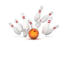 Wall Mural - bowling
