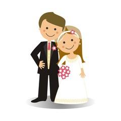 Pareja de recién casados SF1