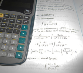 Maths and calculator