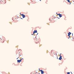 animal octopus summer cartoon , cartoon seamless pattern background