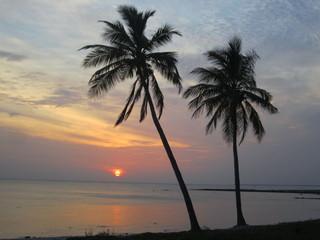 Sun Rise, on the beach