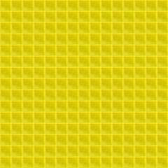 Yellow Pattern Tetrahedral Mosaic