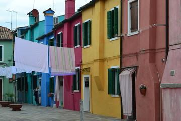 Burano in Venice Italy