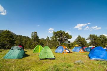 huzurlu kamp