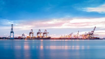 Port Newark-Elizabeth marine terminal Fototapete
