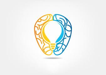 Smart Brain logo design