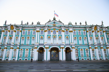 View of the Winter Palace from Palace Square.