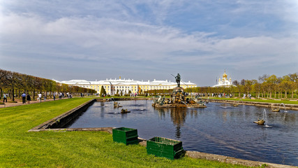 Peter and Paul Fortressis. Saint Petersburg. Russia.