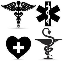 Medical Sign Caduceus