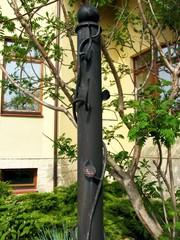 Подставка для гамака кованая