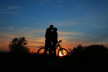 romantic sillhouette