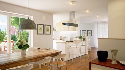 Neubauwohnung mit Küche