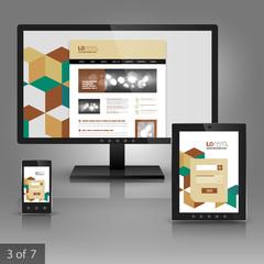Applications template design