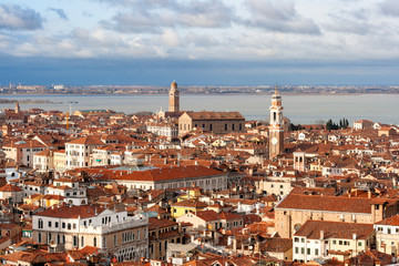 View over Venice, Italy