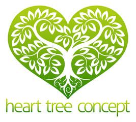 Abstarct Heart Tree
