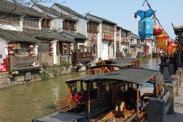 中国蘇州山塘街