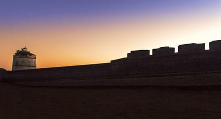 Photo sur Plexiglas Fortification Aguada fort