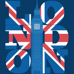 London Typography Graphics, T-shirt design