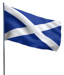 Scotland Flag Waving