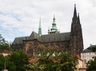 St. Vitus cthedral in Prague, Czech republic
