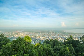 Mut Sea Mountain Viewpoint Chumphon Thailand