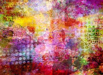malerei texturen raster kreise