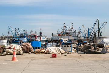 Fishing Boats by Seacoast