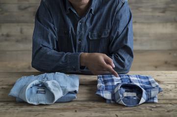 Men are choosing the shirt of choice