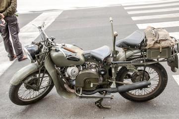 Antica motocicletta
