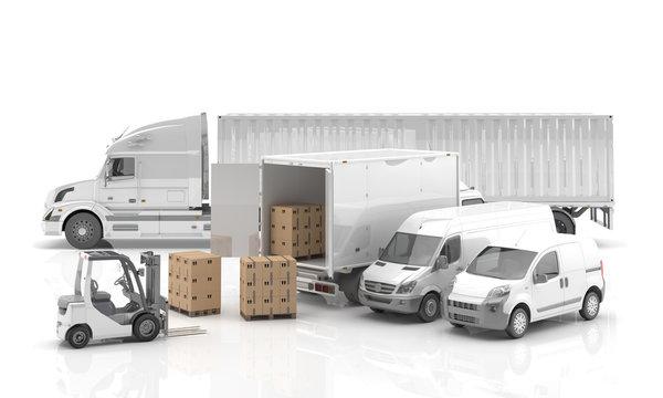 Transporte internacional de mercancías por carretera.