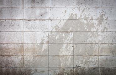 Cinder block wall background