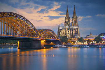 Cologne, Germany. Fototapete