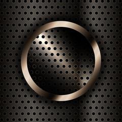 Vektor Hintergrund - goldender Ring