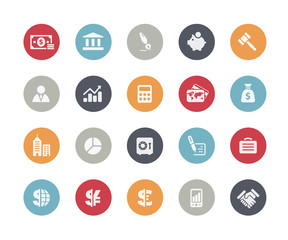 Business and Finance Icons // Classics Series
