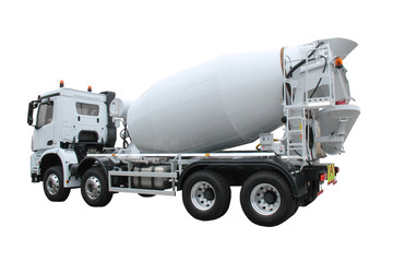 A Brand New Cement Mixing Delivery Lorry Truck.