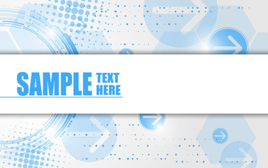 vector background template technology communication concept