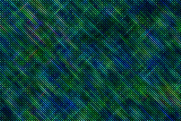 blue and green abstract background with circles and stripes