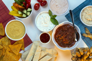 Food - Party Dips - Bread Sticks