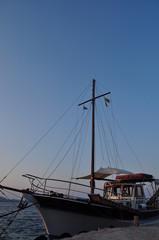 Segelschiff Küste Süden