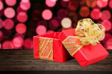 Gift, present, box.