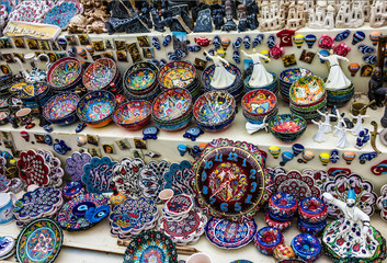 Traditional souvenirs in Oman  Muscat - Buy this stock photo and