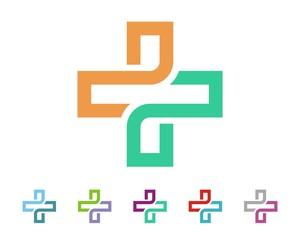 Healthcare Cross Sign Logo Template v.2