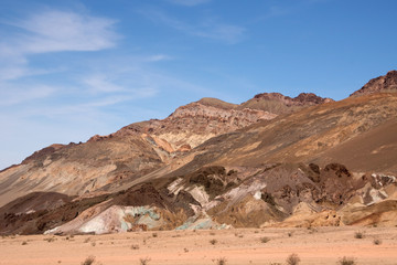 Artist´s Palette, Death Valley NP, Kalifornien, USA